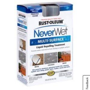 Rustoleum Never WetMulti-Surface Water Repellent